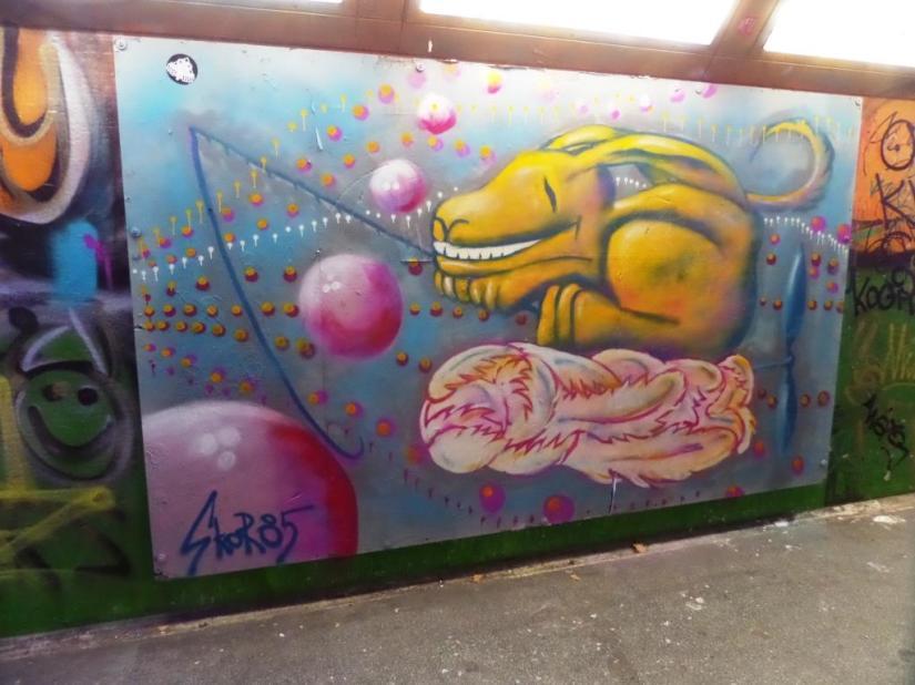 Skor85, The Bearpit, Bristol, January 2017