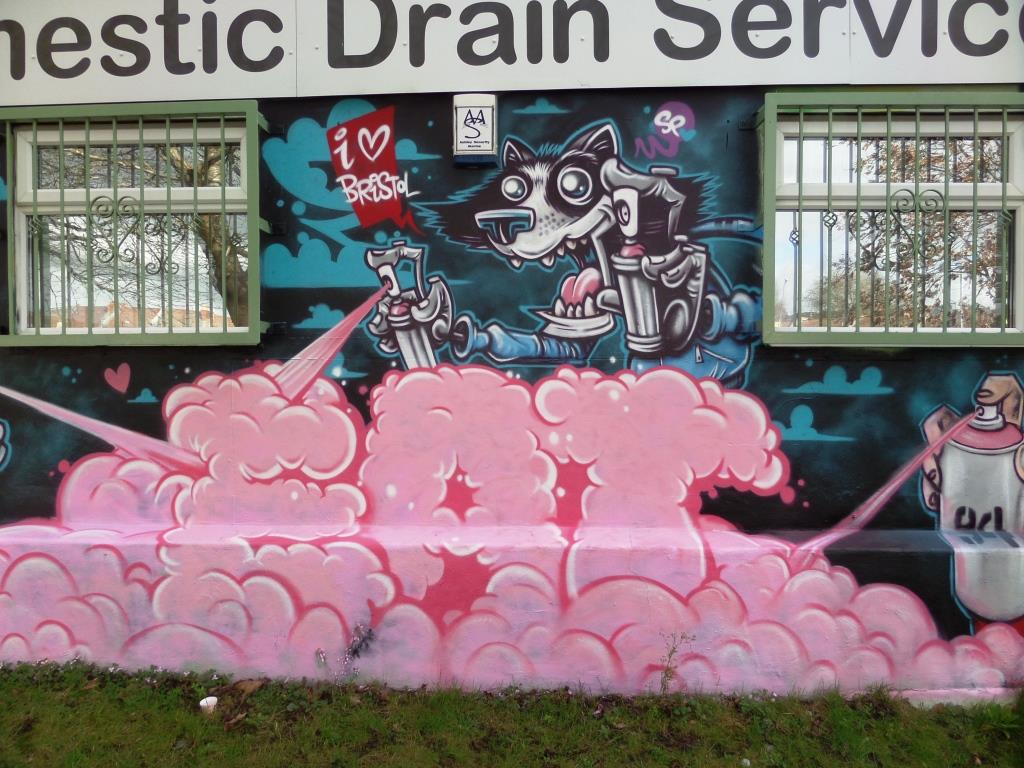 SPZero76 and Kid Crayon, Millpond Street, Bristol, February 2017
