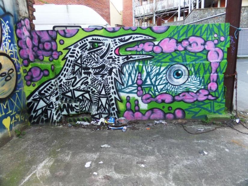 Shab, Picton Lane, Bristol, April 2016