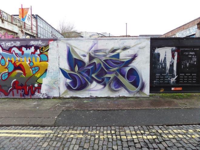 Mr Klue, Moon Street, Bristol, February 2017