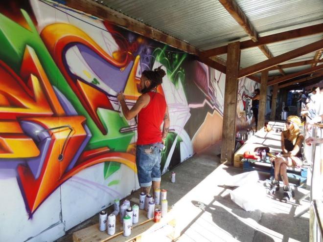 Rudiart, Upfest, Bristol, July 2016