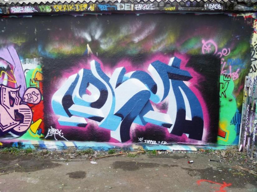 Lokey, Dean Lane, Bristol, October 2016