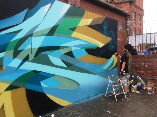 Zase, Upfest, Bristol, July 2016