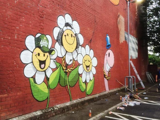 Cheo, Upfest, Bristol, July 2016