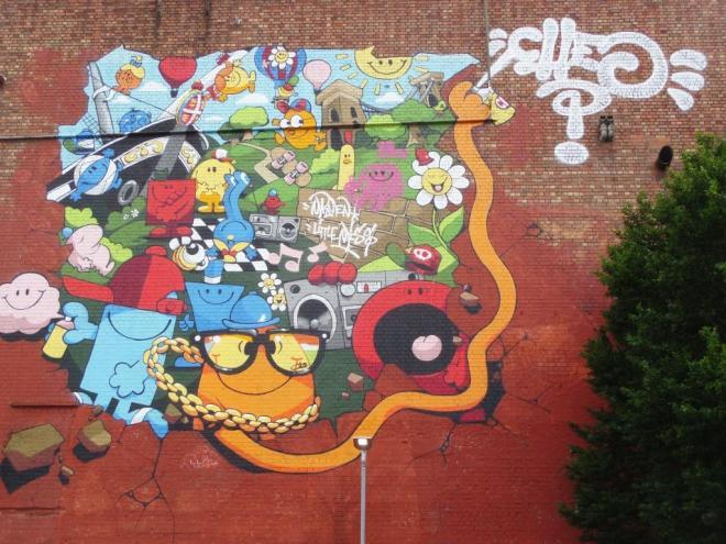 Cheo, Upfest, Bristol, August 2016