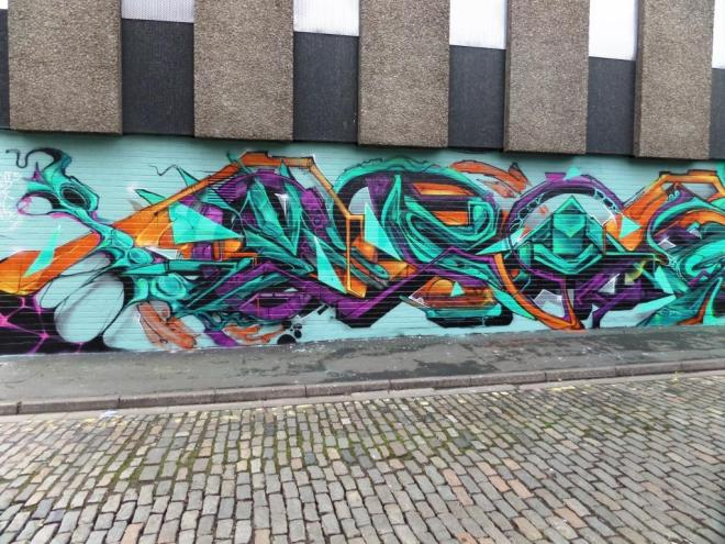 Ments, Sled One, Epok, Peal, Meds, Wilder Street, Bristol, February 2017