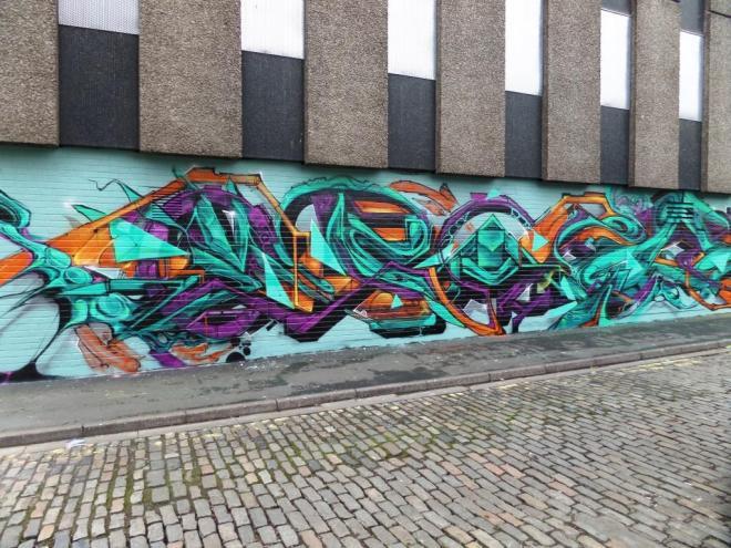 Ments, Sled One, Epok, Peal, Meds, Wilder Street, Bristol, February 2017