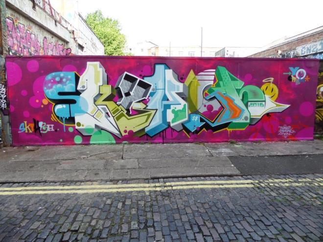 SkyHigh, Moon Street, Bristol, July 2016