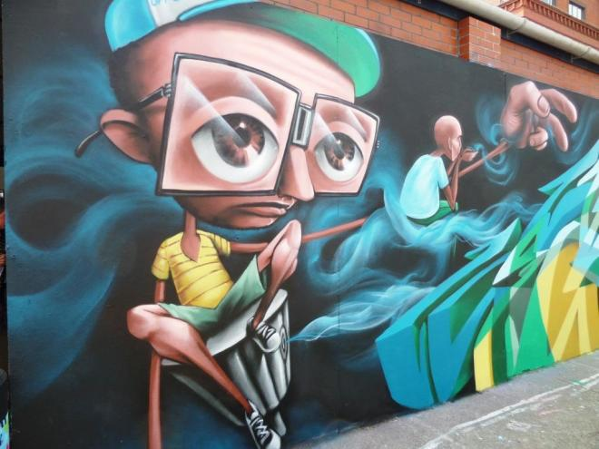 Zase and Dekor, Upfest, Bristol, July 2016