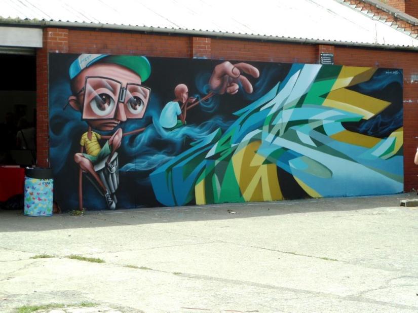 Zase and Dekor, Upfest, Bristol, July 2016