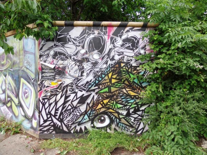 Shab, Magdalene Place, Bristol, June 2016