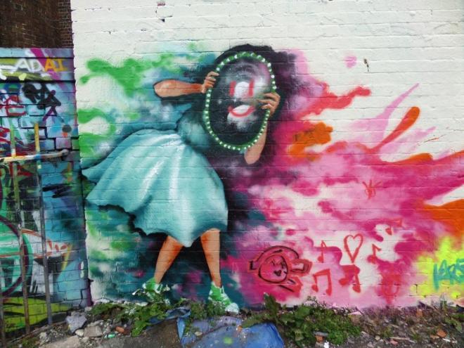 Unknown artist, Dean Lane, Bristol, July 2016