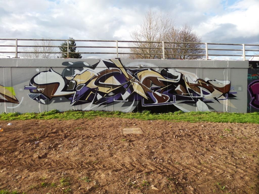 Sled One, M32 roundabout, Bristol, April 2017