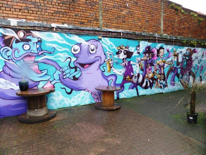 Lost Souls, Upfest, Bristol, July 2016