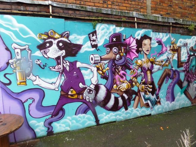 Lost Souls, Upfest, Bristol, July 2016