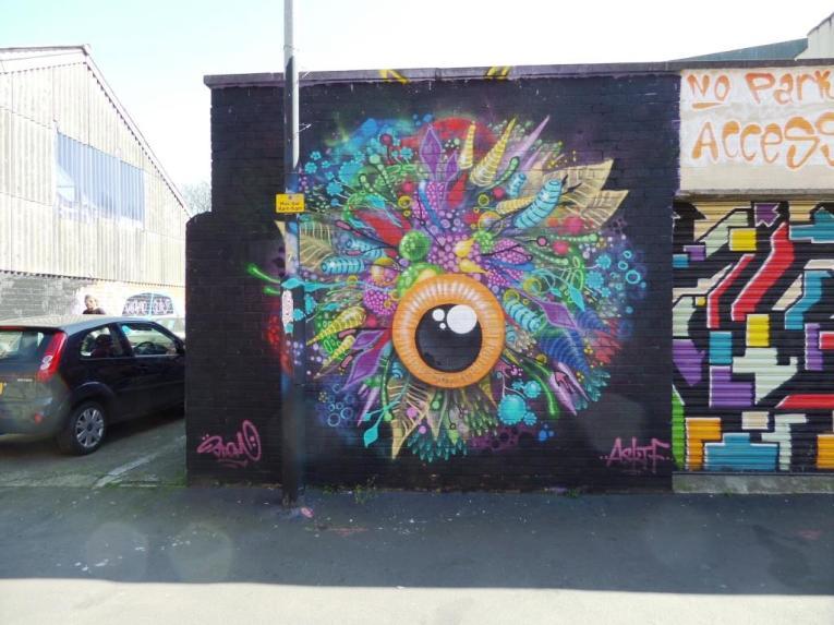 3Dom, Wilder Street, Bristol, April 2017