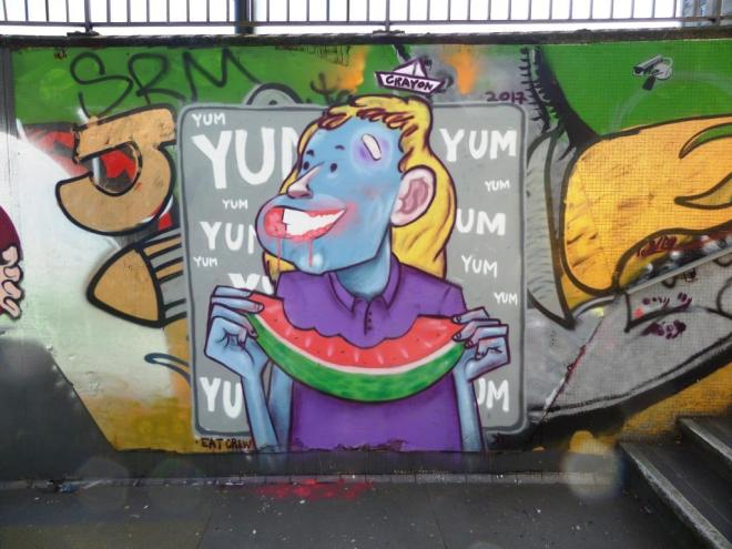 Kid Crayon, The Bearpit, Bristol, April 2017
