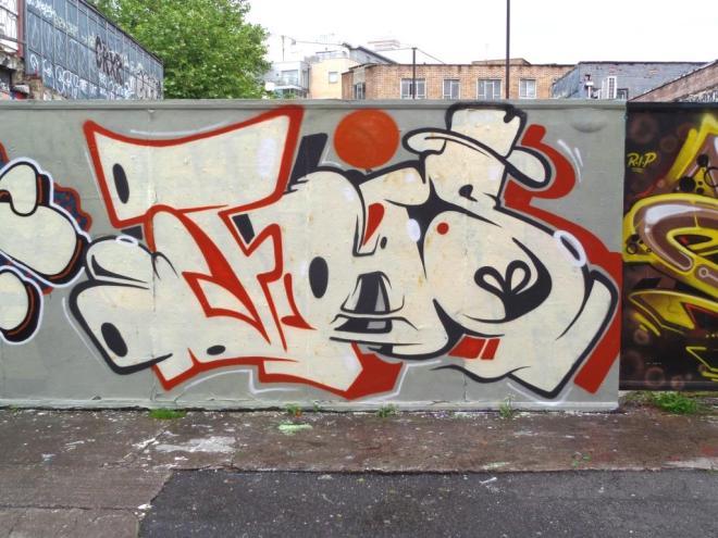 Kleiner Shames, Moon Street, Bristol, July 2016