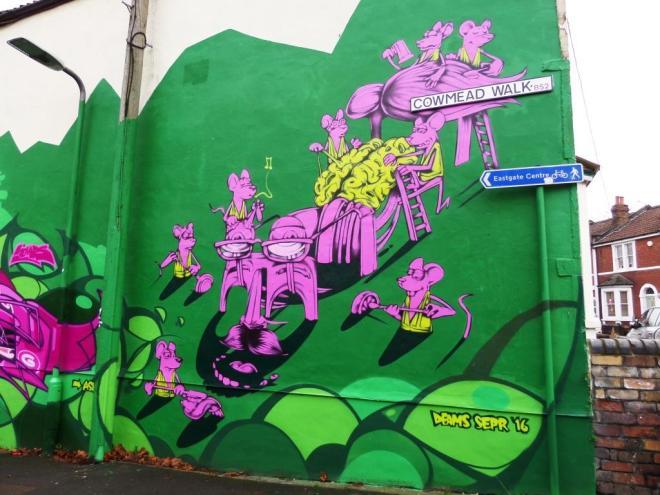 Sepr, Cowmead Walk, Bristol, December 2016