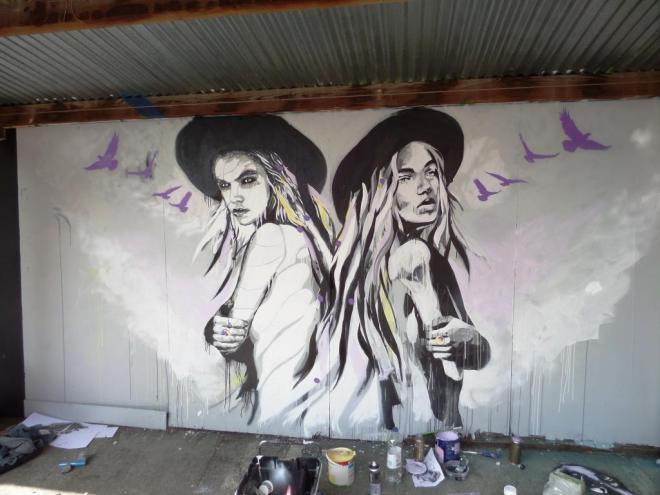 Stephen Quick and Hannah Adamaszek, Tobacco Factory, Bristol, May 2017