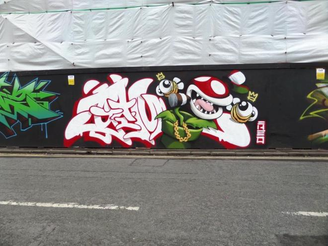 Cheo, Raleigh Road, Bristol, May 2017