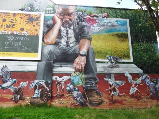 Gamma Gallery, Upfest, Bristol, July 2016