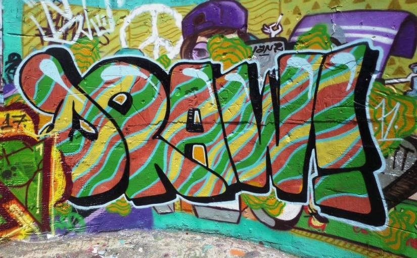 Mr Draws, Dean Lane, Bristol, May 2017