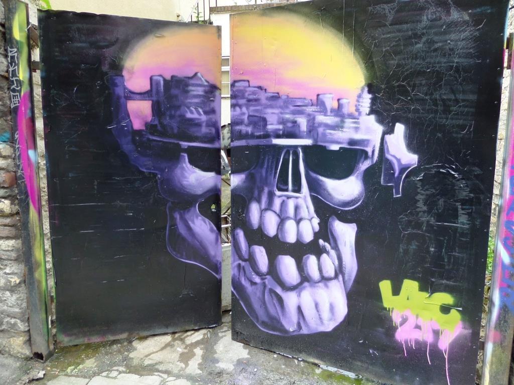 Laic 217, Moon Street, Bristol, May 2017
