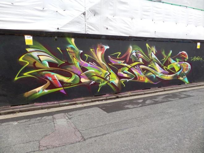 Soker, Raleigh Road, Bristol, May 2017