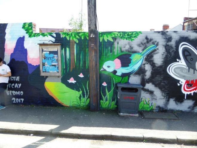 Beastie, Greville Road, Bristol, June 2017