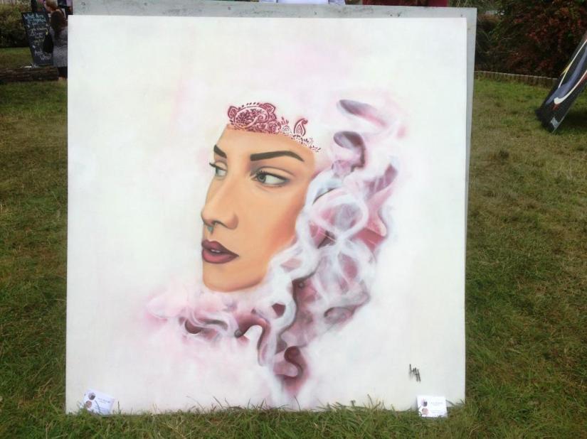 Lauren Maria Hill, Upfest, Bristol, July 2017