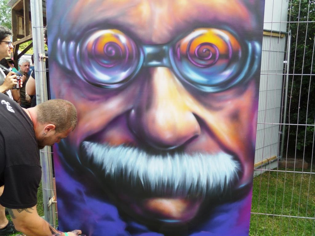 Yassen Nenov, Upfest, Bristol, July 2016