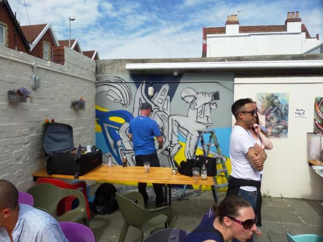 Pad303, Upfest, Bristol, July 2016
