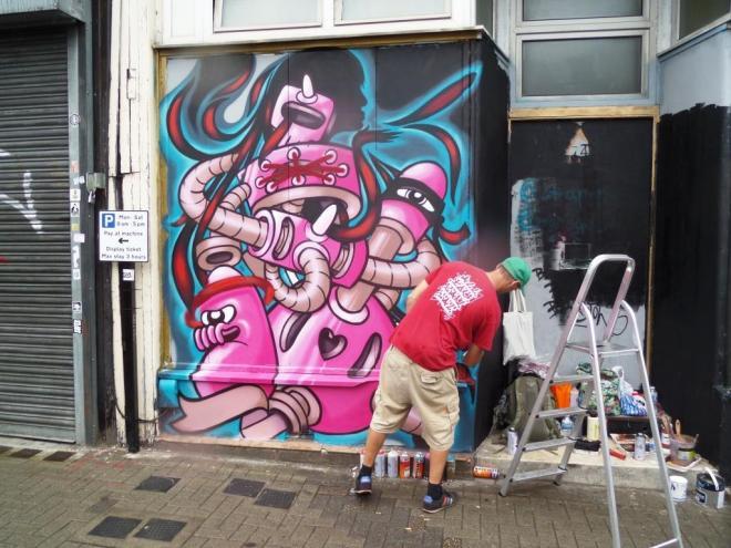Age Age, Upfest, Bristol, July 2016