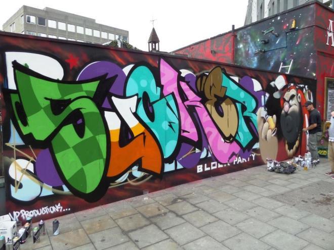 Soker and Cheo, Stokes Croft, Bristol, July 2017