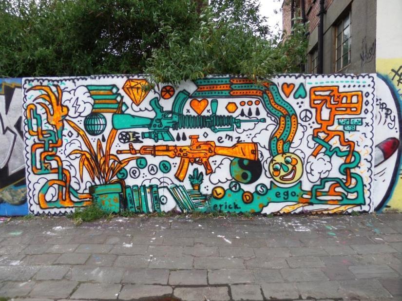 Thelochnessmonster, Unity Street, Bristol, June 2017