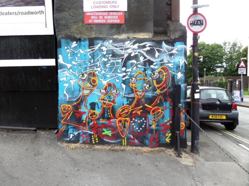 Shab, Wade Street, Bristol, June 2017
