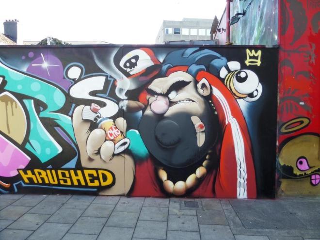 Cheo, Stokes Croft, Bristol, July 2017