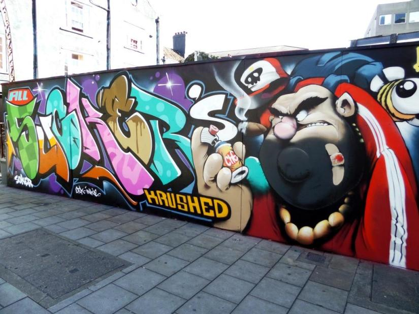 Soker and Cheo, Stokes Croft, Bristol, July 2017