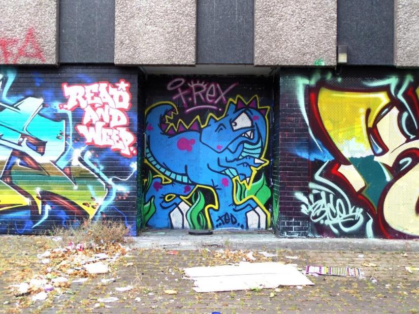 T Rex, Upper York Street, Bristol, June 2017