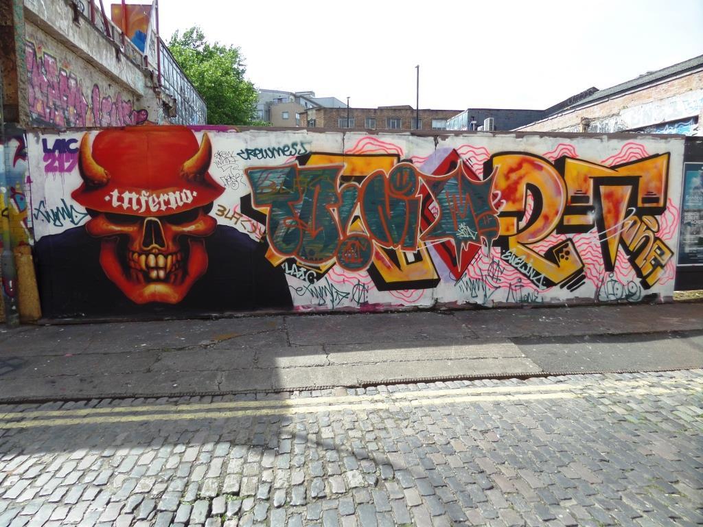 Laic217 and Cort, Moon Street, Bristol, June 2017