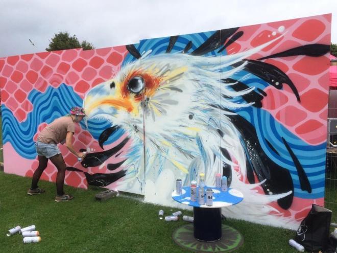 Freshmess, Upfest, Bristol, July 2016