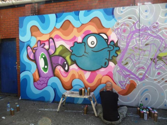 Nol and Edo Rath, Upfest, Bristol, July 2016