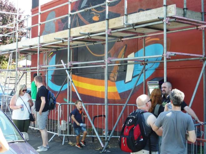 Rumbl, Upfest, Bristol, July 2016