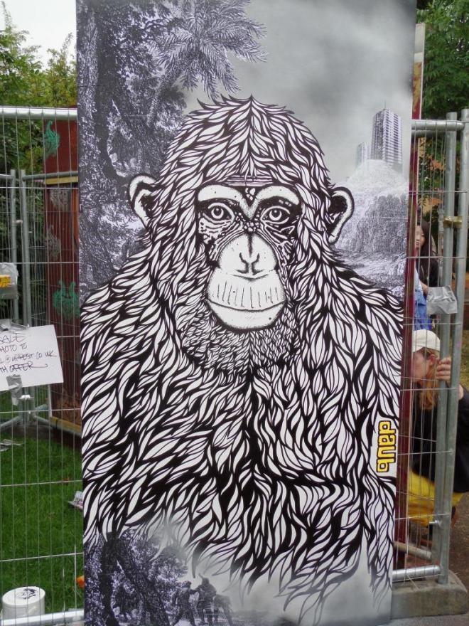Daub, Upfest, Bristol, July 2016