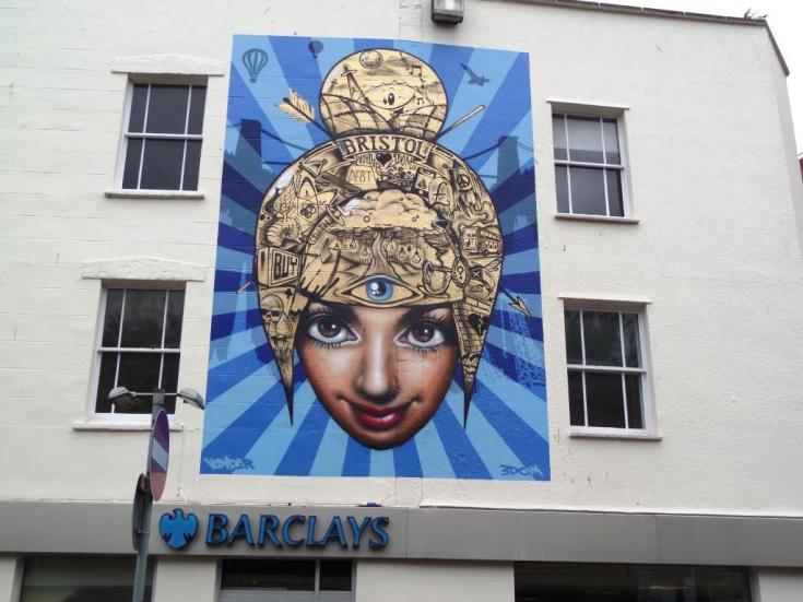 3Dom and Voyder, Upfest, Bristol, July 2017