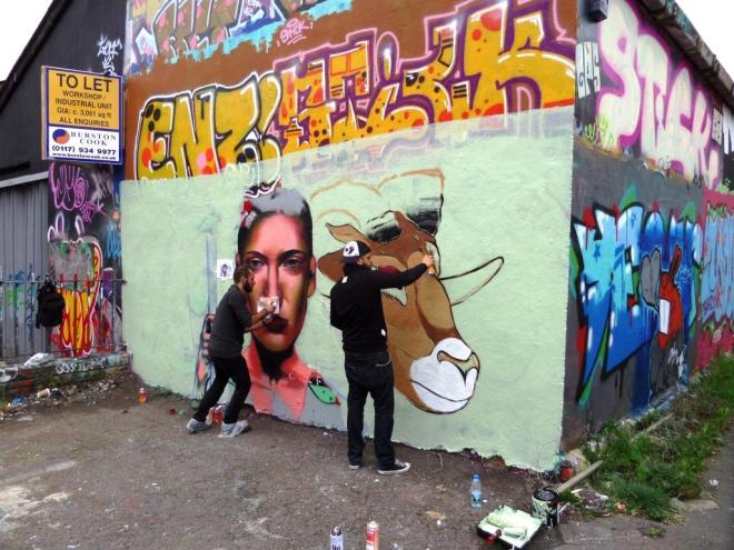 Apset and Ionas, Upfest, Bristol, July 2017
