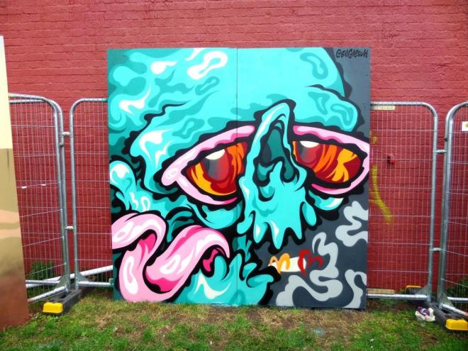 Bill Giles, Upfest, Bristol, July 2017