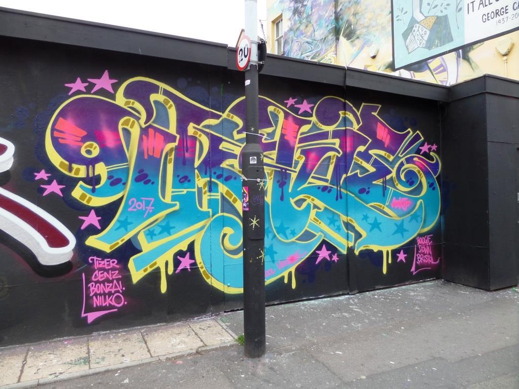 Inkie, Jamaica Street, Bristol, July 2017