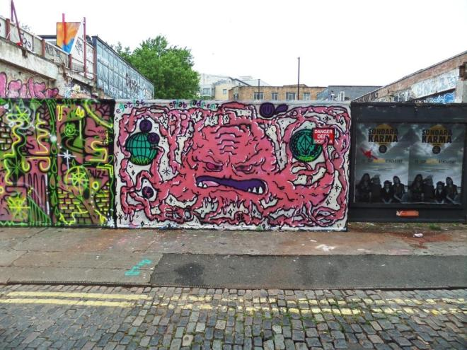 Thelochnessmonster, Armada Place, Bristol, July 2017